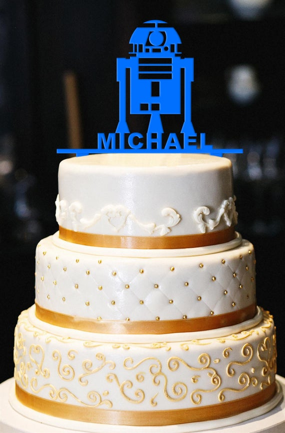 Swell Robot Birthday Cake Topper Birthday Cake Topper Birthday Etsy Personalised Birthday Cards Epsylily Jamesorg