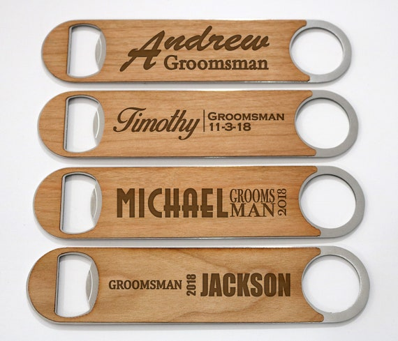 wedding favor man cave beer opener groomsmen gift gift for him Cast Iron Steer Bottle Opener