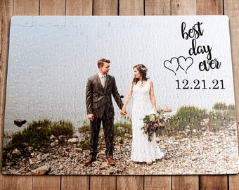 Personalized Puzzle  Engagement Gift, Anniversary Gift, Wedding Gift, Custom Puzzle, Jigsaw Puzzle, Engagement Picture Puzzle