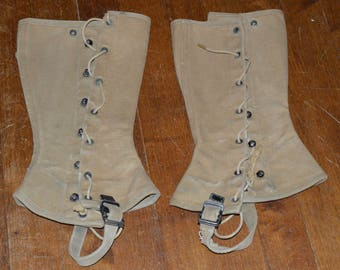 A pair of spats from 1944