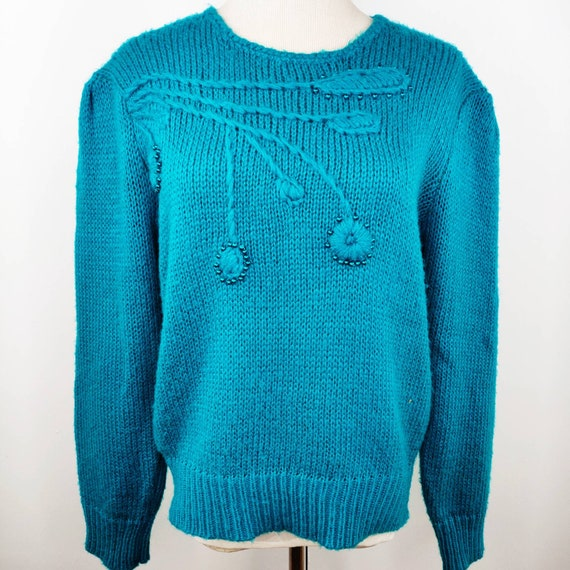 Vintage 1970s to 1980s, RETRO 40s, Fuzzy Sweater i