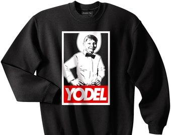 Yodel Kid sweatshirt, Walmart Kid sweatshirt, Meme, Funny, Yodelling, Coachella