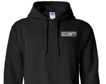 Security Bekleidung Sweatshirt  Security SECURITY PULLOVER  2x bedruckt Sonic