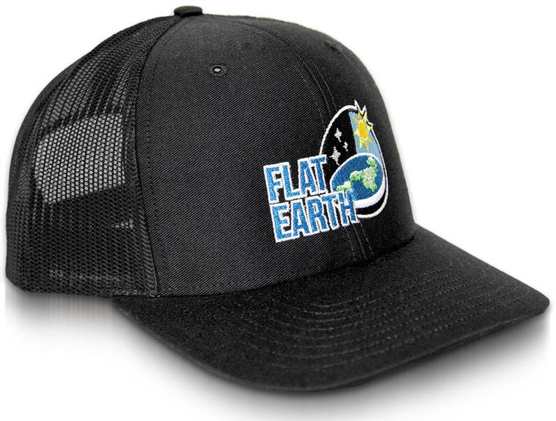 91b0732e564ca Flat Earth Cap Earth is flat Firmament NASA Lies NWO Hat