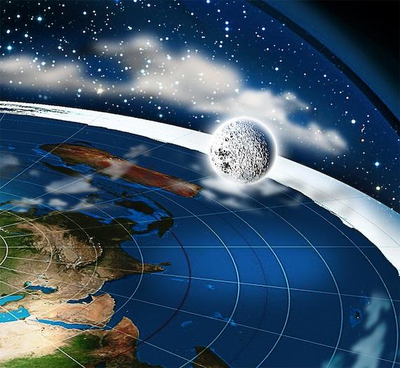 Hoax NASA Lies Now Buddhist Map Firmament Flat Earth t-Shirt Earth is Flat