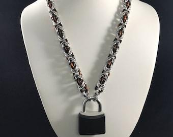 Tri-tone Byzantine Collar