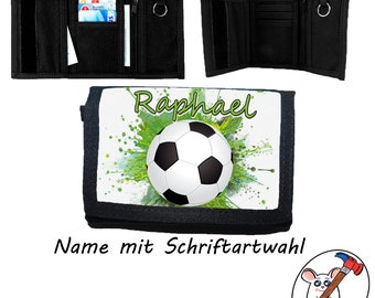 Kids Purse with Name / Football / Purse / Personalizable