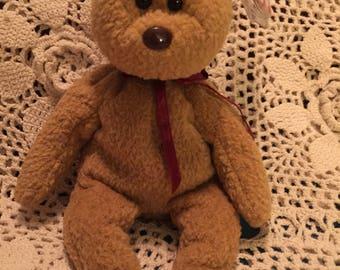 874d8a5cd31 TY Original 1993 Curly beanie bear