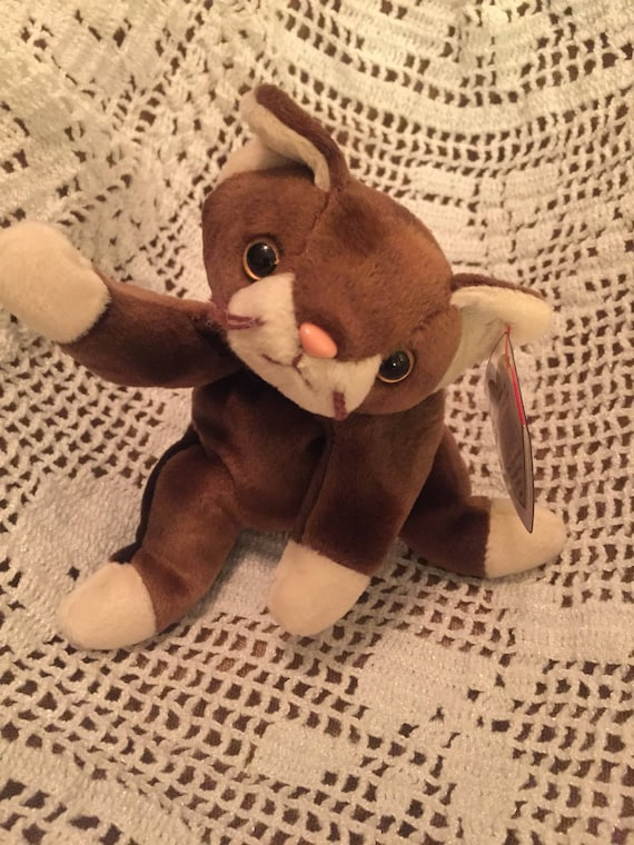 TY Original 1997 Pounce beanie baby.  7f78cd301a4