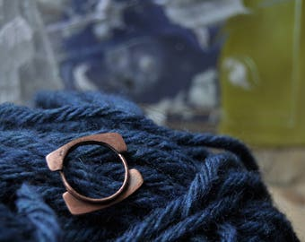 Double Sided copper ring