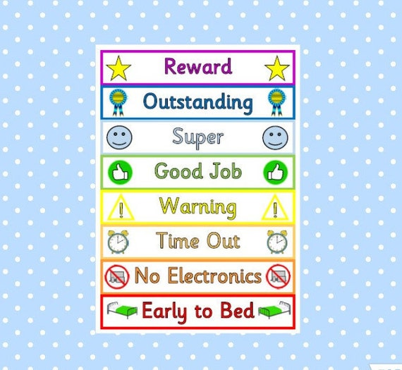 This is a photo of Printable Reward Charts for Kids regarding homework