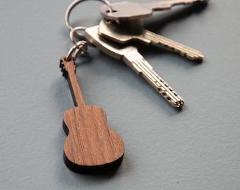 Guitar keychain   Guitar gift   Music gift b8626963abf4