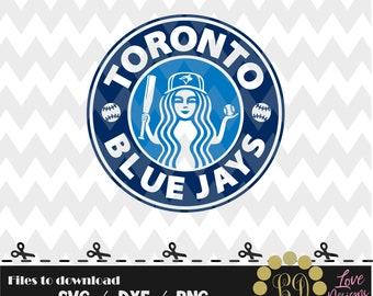 Toronto  Blue Jays Coffee svg,png,dxf,shirt,jersey,baseball,college,university,decal,proud mom,disney,softball,college,starbucks,ncaa,svg