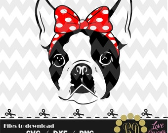 Boston Terrier svg,png,dxf,cricut,silhouette,jersey,shirt,proud,birthday,invitation,disney,monogram,girl,queen,dog,bow,pearls,mom,farm