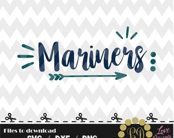 Mariners svg,png,dxf,cricut,silhouette,college,jersey,shirt,proud,cut,university,baseball,softball,arrow,decal,state,seattle,washingtonw