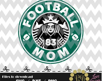 Football mom svg,coffee cup,svg,png,dxf,cricut,silhouette studio,jersey,shirt,proud,softball,birthday,invitation,sports,cut,disney,starbucks