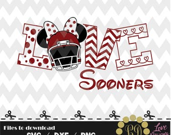Love Sooners svg,png,dxf,shirt,jersey,football,college,university,decal,proud mom,texans,nfl,texas,files,oklahoma,dallas,decal,cowgirls,OQ