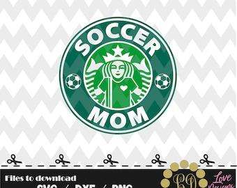 Soccer Mom Coffee svg,png,dxf,cricut,silhouette,jersey,shirt,proud mom,download,birthday,invitation,sport,cut,starbucks,MLS,sister,grandma