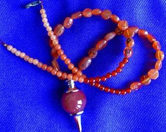 Carnelian Sunset Necklace
