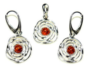 Wire wrapped amber-spider web jewelry-spider web jewellery-silver spider web-spider web with amber-amber spider web-206