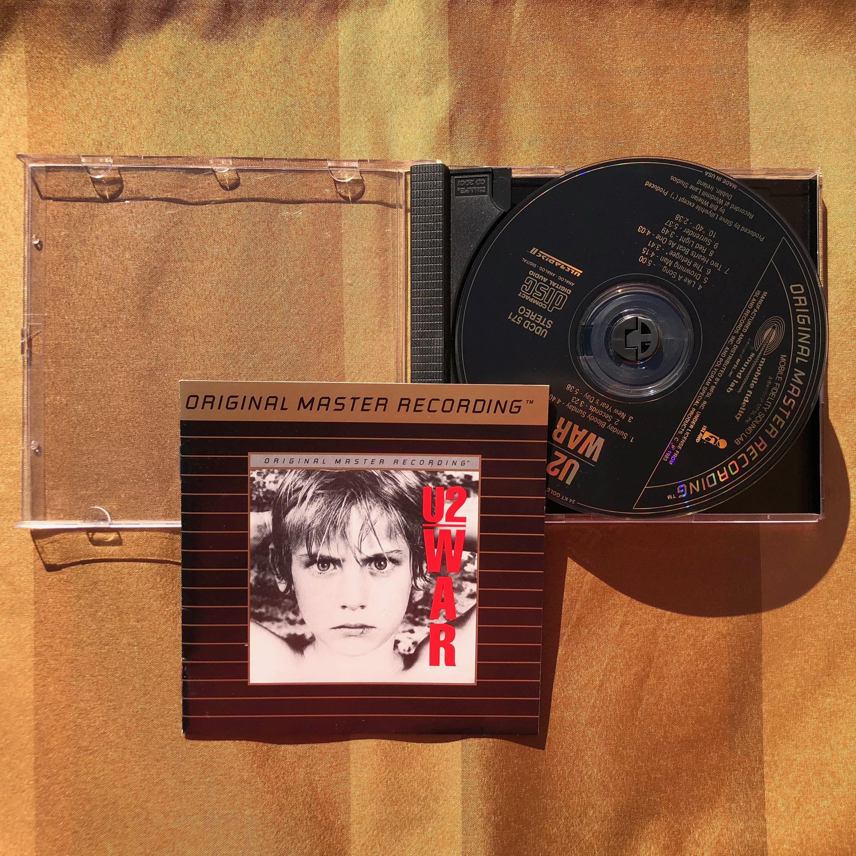 U2 / War -Mobile Fidelity Sound Lab - 24 Karat Gold