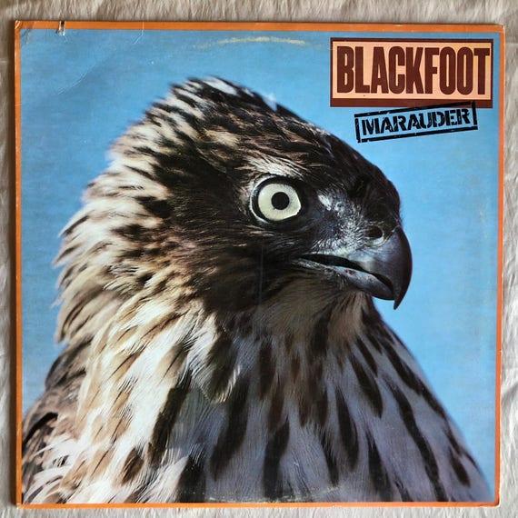 Black Foot Maurder Vinyl Record Lp Album Atco Sd Etsy