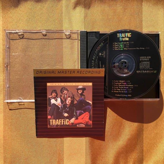 Traffic Traffic Mobile Fidelity Sound Lab 24 Karat Gold Audiophile CD MFSL MoFi UDCD 629 Ultradisc 2