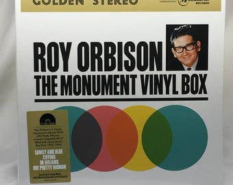 Roy Orbison / The Monument Vinyl Box - 4 LP Vinyl Record Album - 180 grams - Record Store Day RSD/Black Friday 2013 Numbered #558 New Sealed