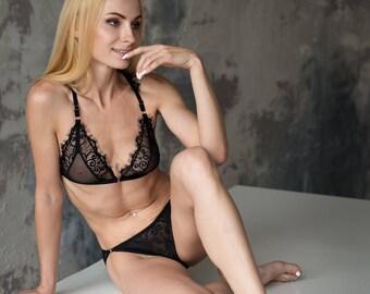 dc309a7b6f Black lace lingerie
