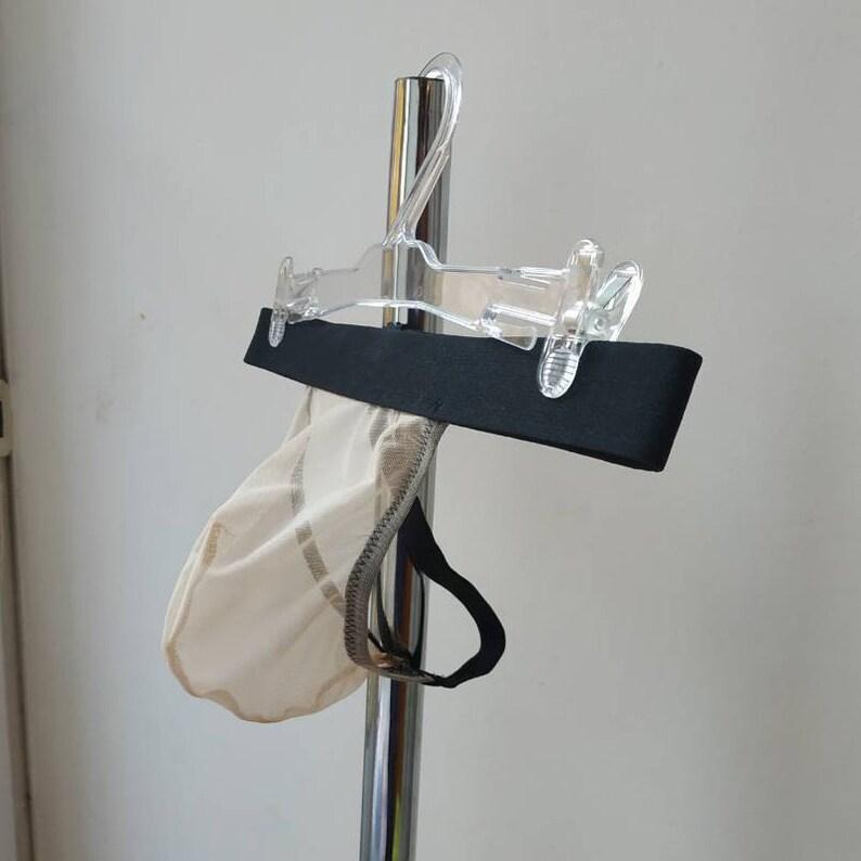 Womens G String Thong Super NAKED Sheer Stretchy STOCKING