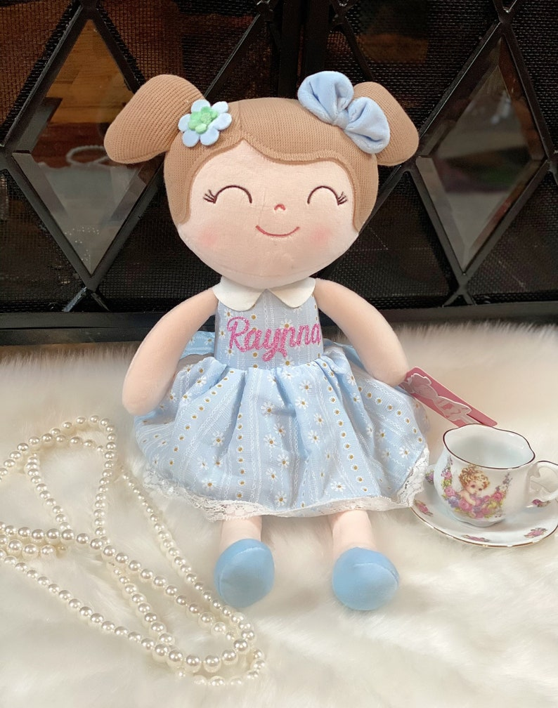 Personalized Doll/Babys first doll/Easter gift/Christmas image 5