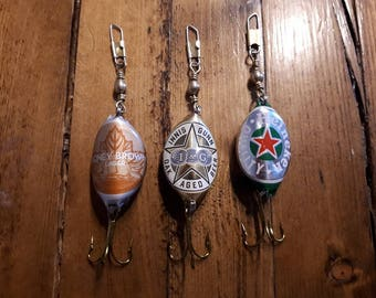 Beer Cap Fishing Lures