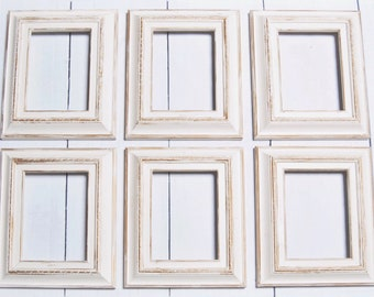 white antique picture frames. Shabby Chic Frame Set | Hand Painted Picture Frames Gallery Wall  Gold Antique White Ornate White Antique Picture Frames