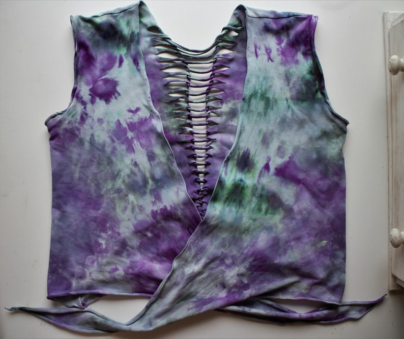 Upcycled Hand Dyed Top