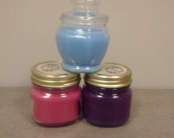 Hand-made soy candle