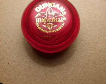 Imperial Red Duncan YoYo