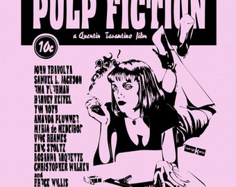 Pulp Fiction poster/print