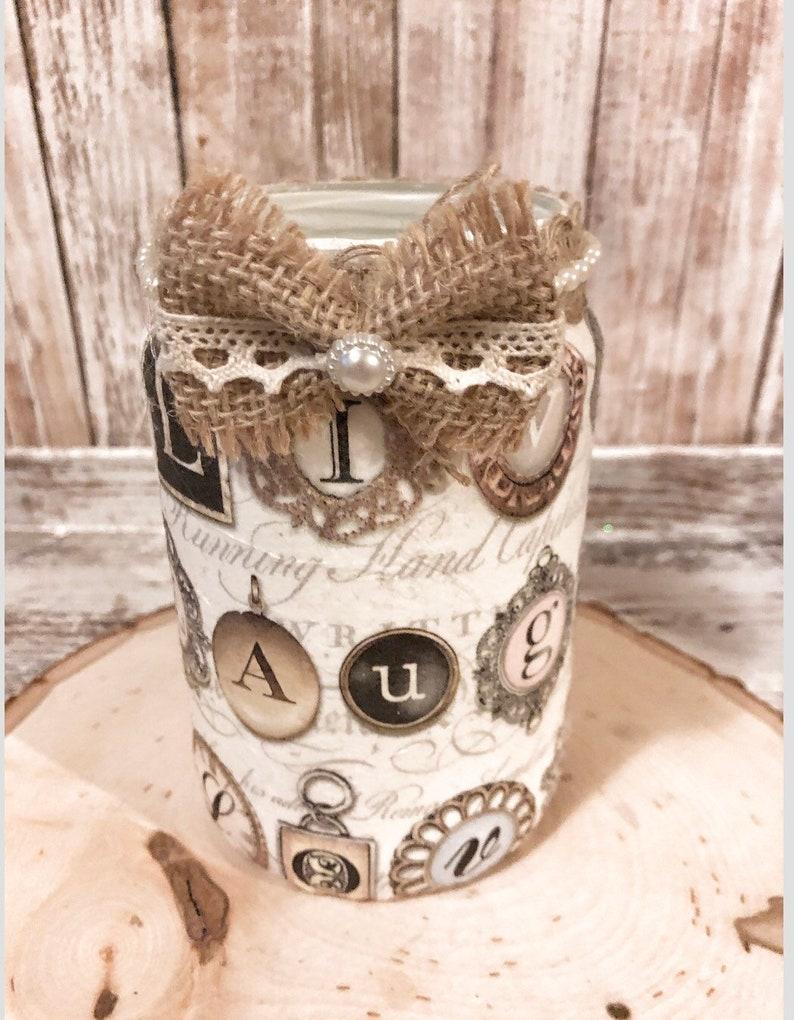 Live Laugh Love Vase