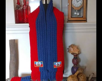 Crochet Haiti Scarf