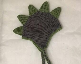 Dinosaur Crochet Hat