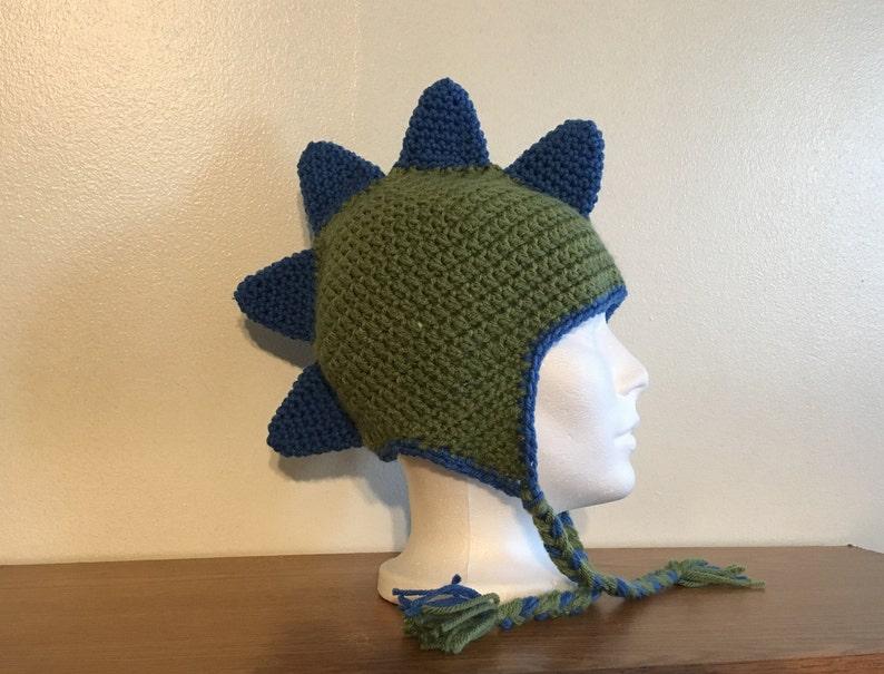 Adult Dinosaur Crochet Hat