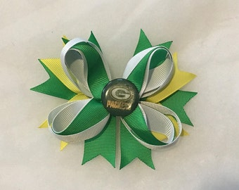 Green Bay Packers hairbow