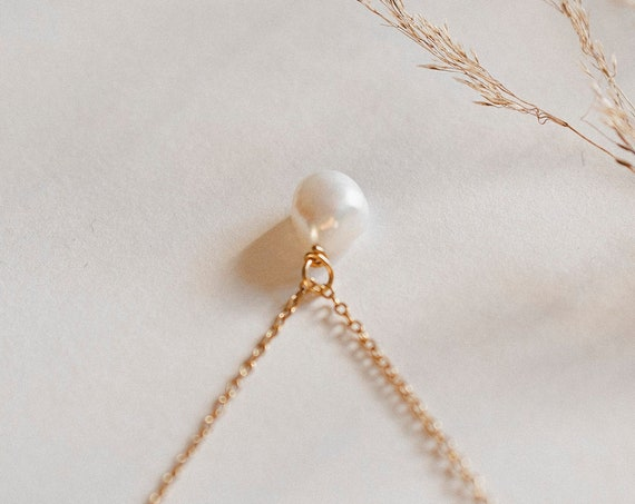 Mimi Pearl Necklace
