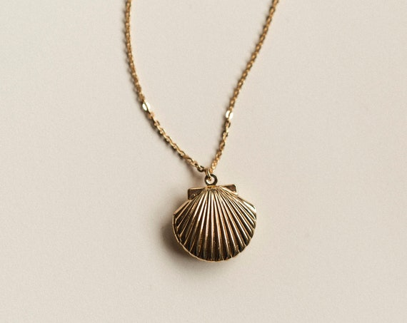 Marina Shell Locket