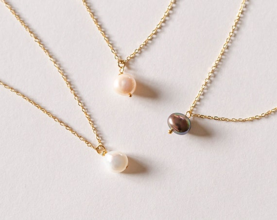 Mimi Pearl Necklace