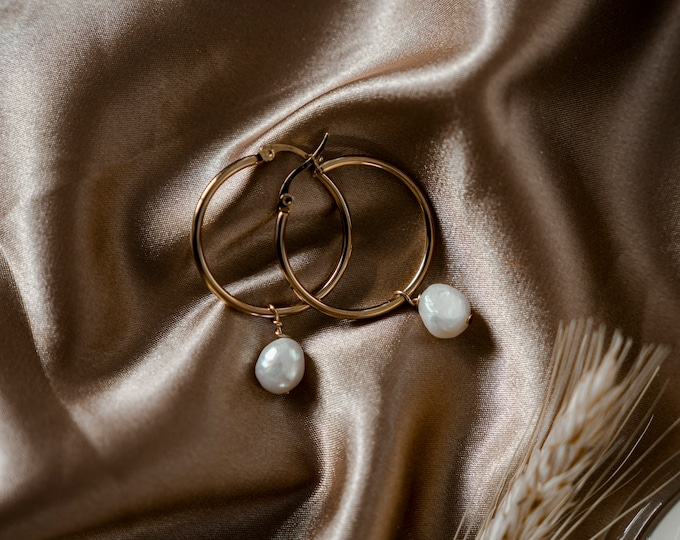 Featured listing image: Marianne Pearl Hoops