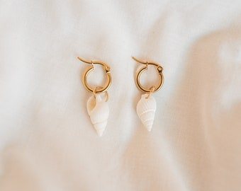 Mini Conch Earrings
