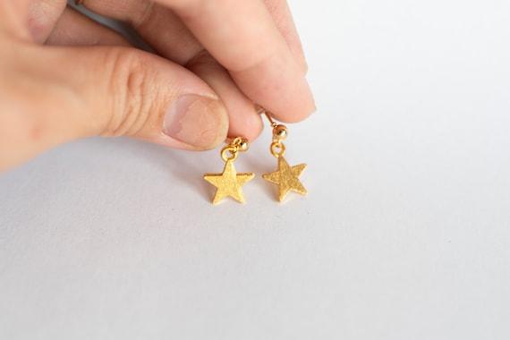 Stainless Steel Star Hoops