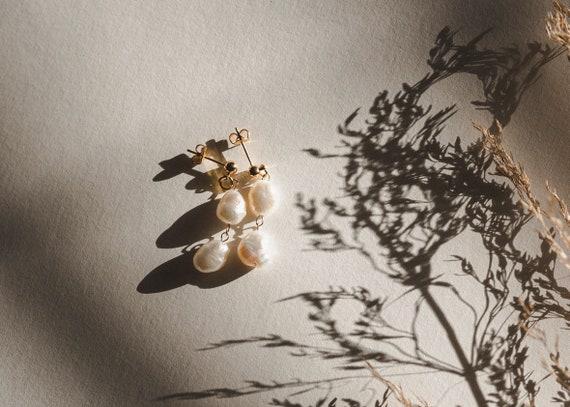 Elisse Double Pearl Drops