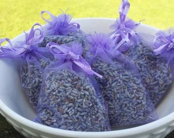 Organza bag lavender sachet